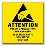 Antistatic Caution Labels