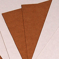 Brown Corrugated Pads