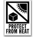 International Hot Cold Labels