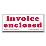 Invoice Enclosed Labels