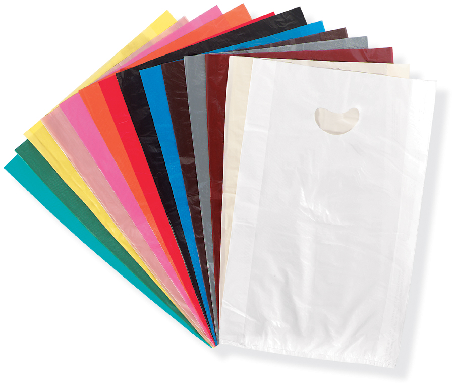 Poly Merchandise Bags