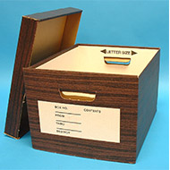 Record File Boxes