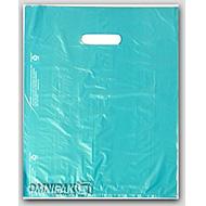 Teal Merchandise Bags