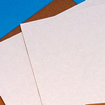 White Corrugated Pads