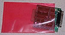 """4x8"""" 4mil Pink Antistatic Bags 1000/cs"""