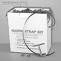 "Poly Strapping Kit-1/2"" Black 300lb - 3000'/cl"