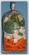 "4x12"" 2mil Clear Poly Bags 2000/cs"