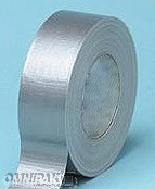"2""x60yd Silver Duct Tape - 24rl/cs"
