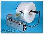 """15"""" 4mil Clear Poly Tubing 1075 feet/roll"""