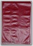 "6-1/4x9-1/4"" Burgundy HDPE Merchandise Bags *No Handles* 1000/cs"