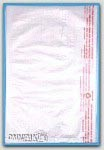 """8-1/2x11"""" White HDPE Merchandise Bags 1000/cs"""