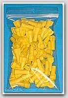 "3x8"" 2mil Ziplock Bags 1000/cs"