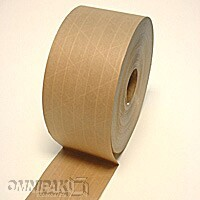 "3""x 450' Reinforced Brown Paper Gum Tape 10/cs"