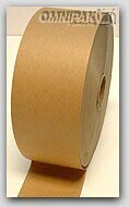 "3""x 600' Brown Non-Reinforced Paper Gum Tape 10/cs"
