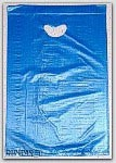 "16x4x24"" Blue HDPE Merchandise Bags 500/cs"