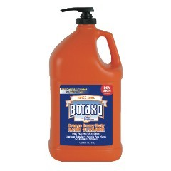 Boraxo Orange Heavy Duty Hand Cleaner Pump Bottle Gallon Bottle 4/cs