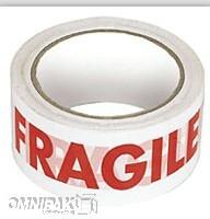 """2""""x55yd Fragile Tape - 36rls/cs"""