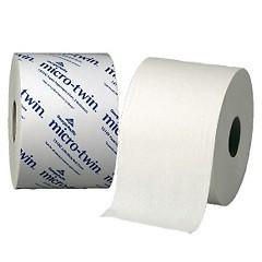 2ply Envision Micr-Twin Toilet Tissue 3.9X4 White 1000sht/rl - 48/cs
