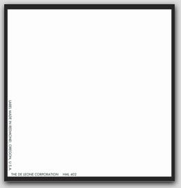 "4x4"" Blank Paper Labels 500/rl"