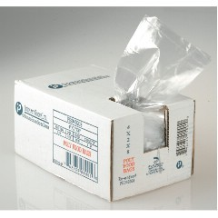 "8x4x18"" 1.0mil LLDPE Food Grade Poly Bags 1000/cs 8-Quart"