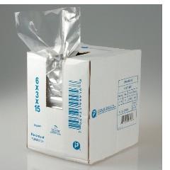 "12x8x30"" .80mil LLDPE Food Grade Poly Bags 500/cs 24-Quart"