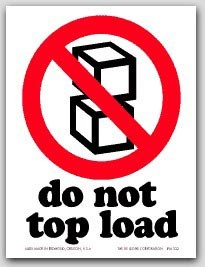 "4x6"" International Labels Do Not Top Load 500/rl"