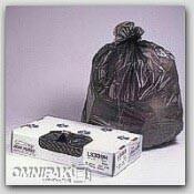 "24x32"" Black .35-mil Trash Bags Bulk Pack 500/cs"