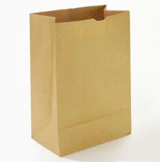 #625 Brown Carry Grocery Bags 500/Bale