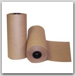 """12"""" 40lb Kraft Paper Roll -1275 feet/rl"""