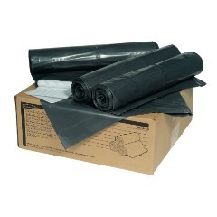 """43x47"""" 2.0mil 56gl Tuffmade Polyliner Trash Can Liners 100/cs"""