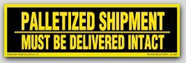 "3x10"" Must Be Delivered Intact Shipping Labels 250/rl"