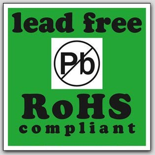 """2x2"""" Lead Free RoHS Compliant Paper Labels 500/rl"""