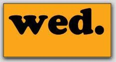 """1-1/2x3"""" Wednesday Rectangle Labels 500/rl"""