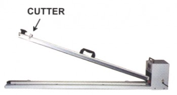 """28"""" Long Hand Sealer with Cutter 2.7mm seal"""