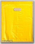 "12x3x18"" Yellow HDPE Merchandise Bags 500/cs"