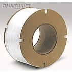 "1/2"" White 350lb Poly Strapping. 8x8"" - 9900'/cl"