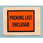 "7""x5-1/2"" Solid Packing List Enclosed Envelopes 1000/cs"