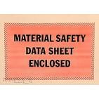 """4-1/2""""x6"""" MSDS Packing List Envelopes 1000/cs"""