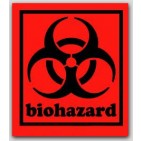 "3-1/2x4"" Labels Biohazard 500/rl"