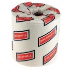 "2ply Toilet Tissue 4.5x4.5"" 500 sheets/rl - 96rl/cs"