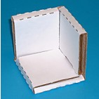 "5x5x5"" - CB4 Corrugated Corner Protection Pads - 50/Bundle"