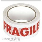 "2""x55yd Fragile Tape - 36rls/cs"