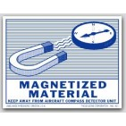 "3-1/2x4-1/2"" Magnetized Materal Paper Labels 500/rl"
