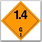 "4x4"" Class 7 Radioactive 1 Vinyl Labels 500/rl"
