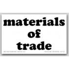 "3x5"" Materials of Trade Paper Labels 50 Labels per Pkg"