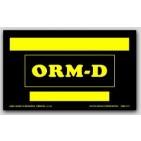"3x5"" Labels ORM-D Blank 500/rl"
