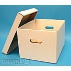 15x12x10-RF2WhiteSelf-LockingRecordFileBoxwithLidDoubleBottomandEnds25-Bundle