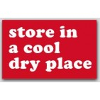 "2-1/2x4"" Store in a cool dry place Labels 500/rl"