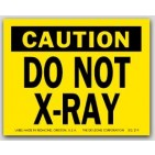 "3x4"" Do Not X-Ray Labels 500/rl"