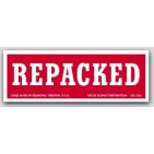 "1-1/2x4"" Repacked Shipping Labels 500/rl"